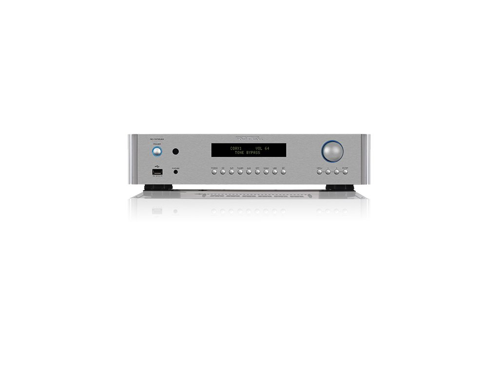 RC 1572MKII silver FRONT