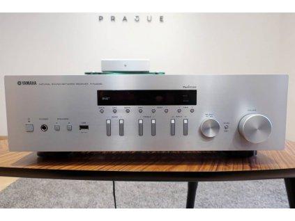 Yamaha R-N402 (stříbrná) - doprodej ze studia