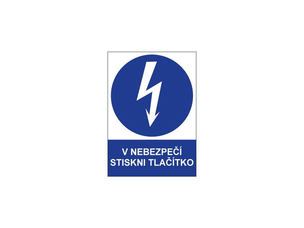 00702 V nebezpečí stiskni tlačítko