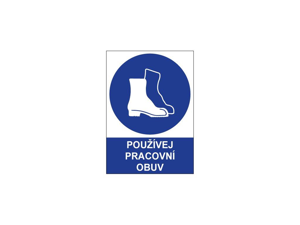 00724 Používej pracovní obuv