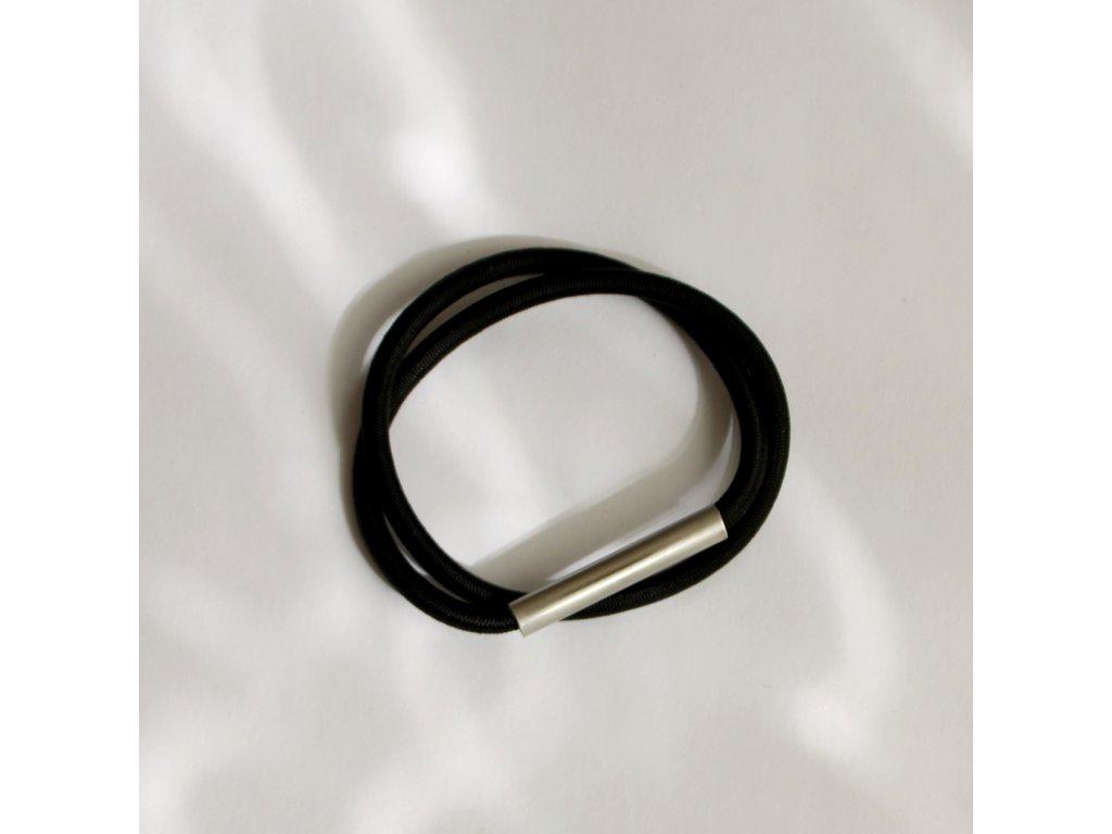 steel/bracelet/black