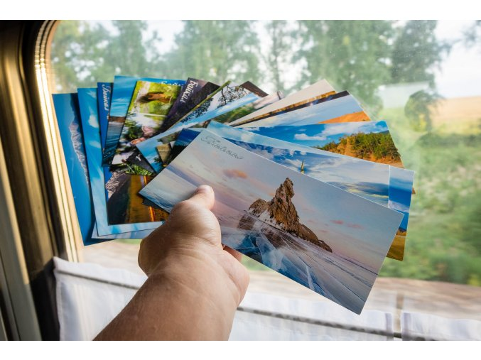 pohlednice od cestovatele