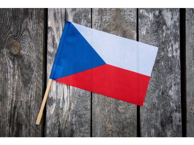 česká vlaječka pro cestovatele