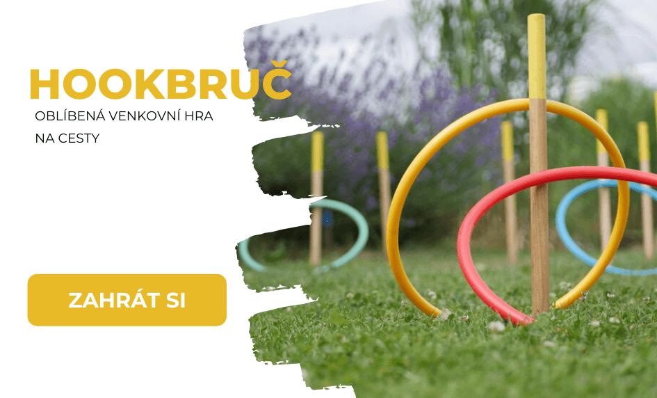 Hookbruč - zahradní hra