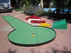 Zahradní minigolf 2007