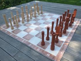 Šachy hrací plocha