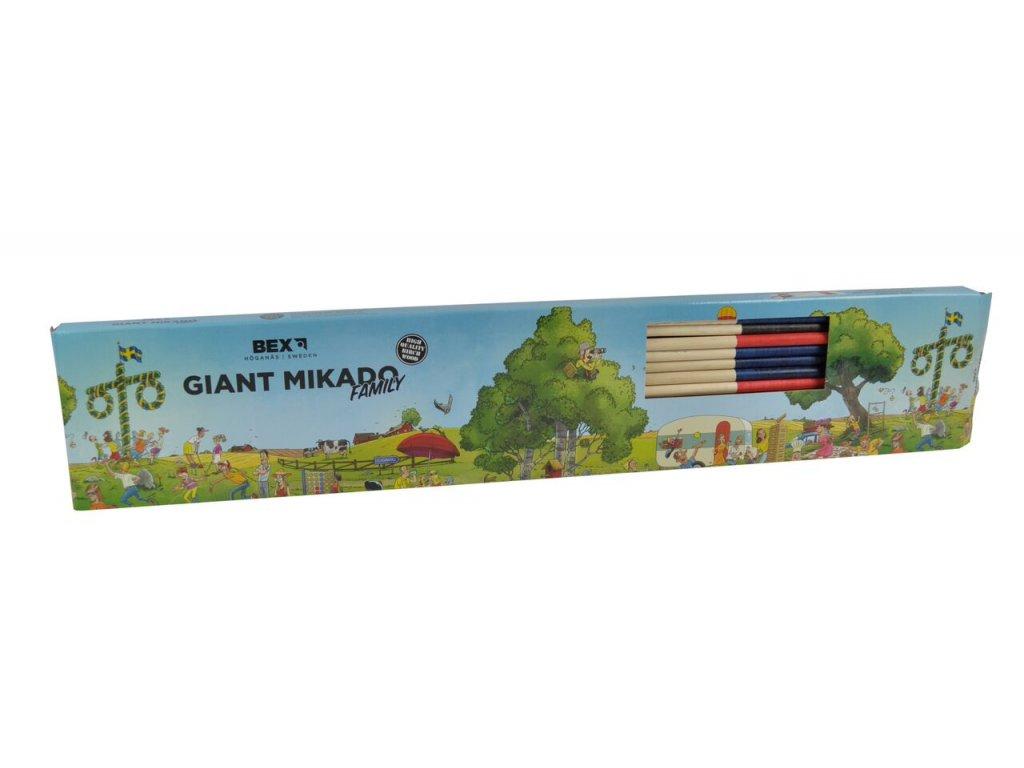 Mikádo - (dřevěné)