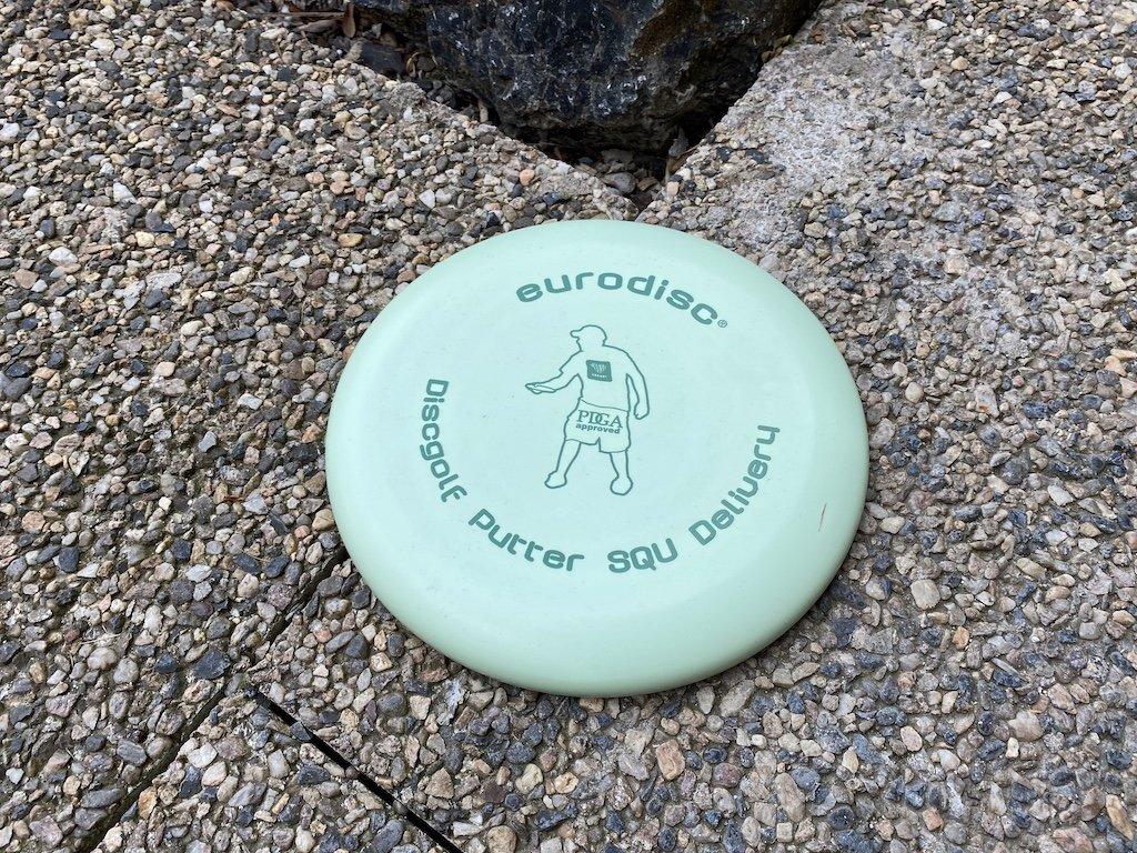 Discgolf Putter zelený