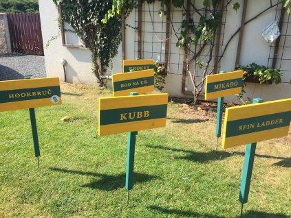 Zahradní hry - pronájem
