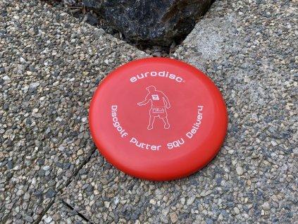 Discgolf Putter červený