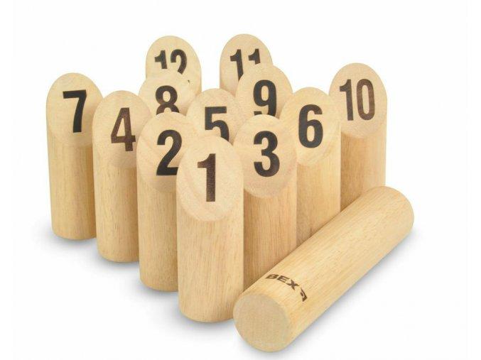 Kubb s čísly (dřevěný)