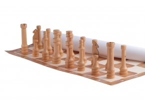 Zahradní šachy malé - (dřevěné)