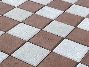 Hrací plocha - šachovnice dlažba velká