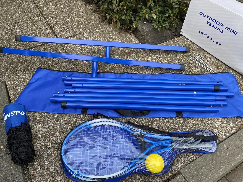 Mini Tenis - perfektní venkovní hra