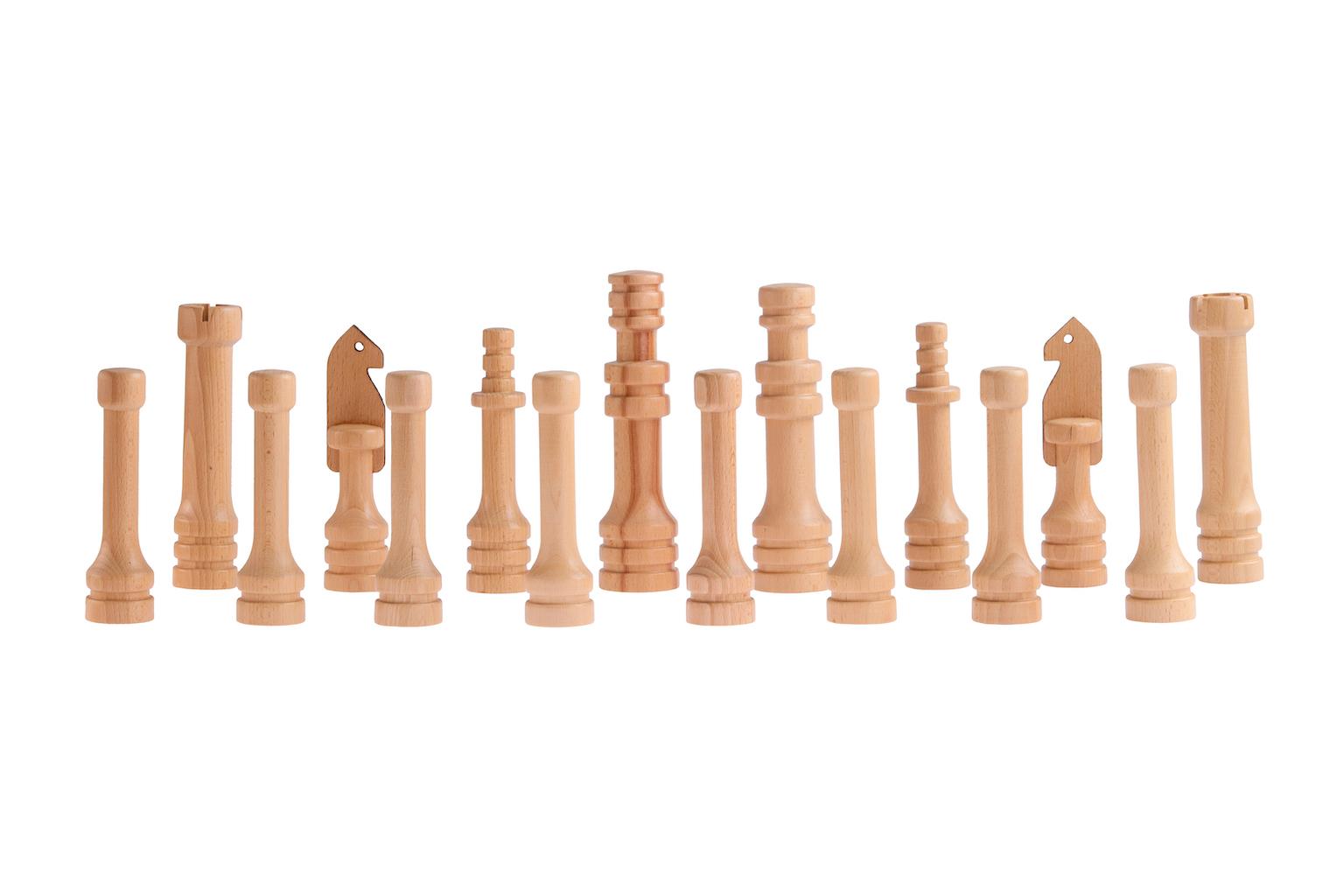 Zahradní šachy malé Hra + hrací plocha: saténový ubrus (120x120cm)