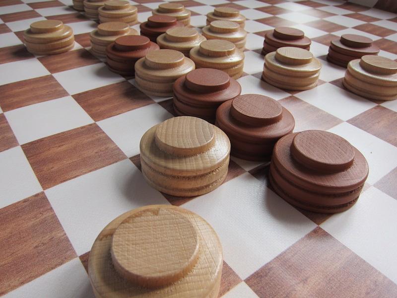 Piškvorky - (dřevěné) Hra + hrací plocha: banner (90x90cm)