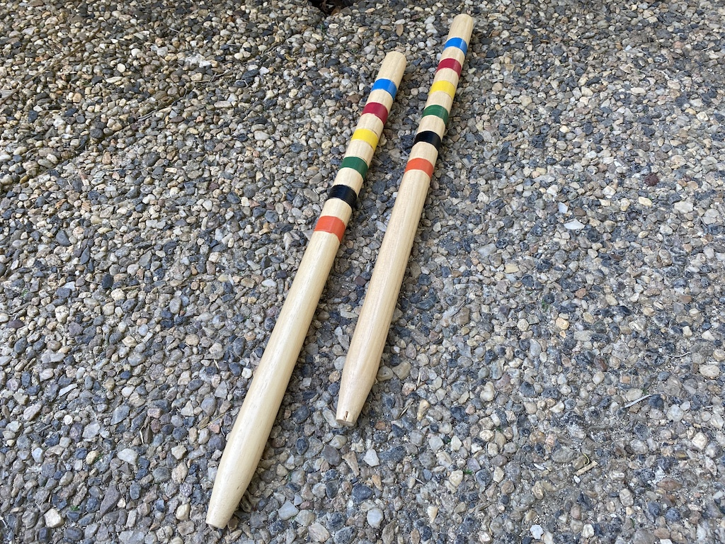 Kroket náhradní části Náhradní části: dřevěná palice
