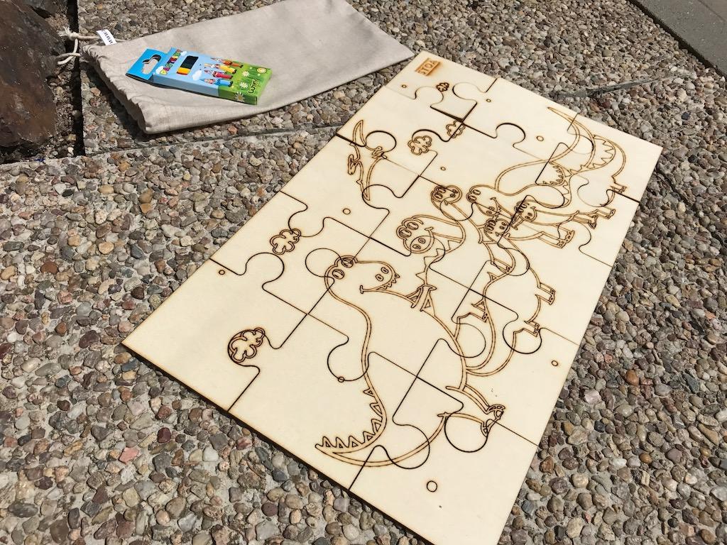 Puzzle pro děti - Dinosauři