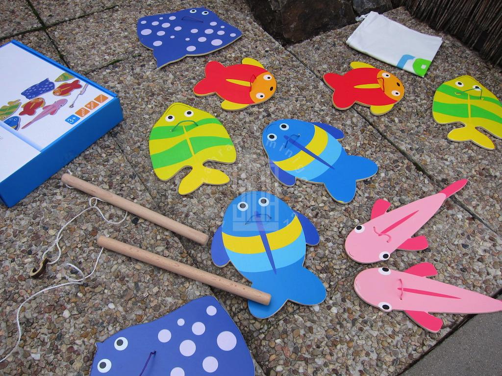 Rybaření - hra pro děti