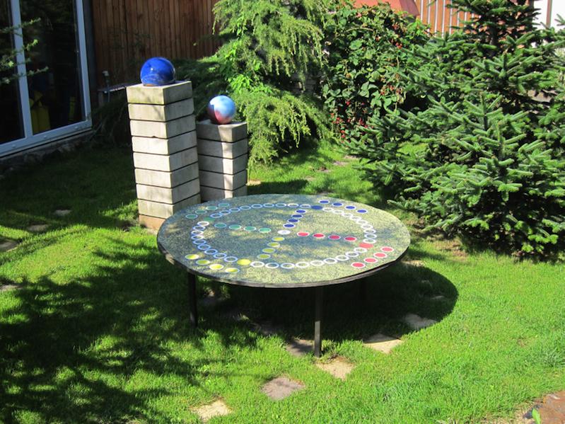 Venkovní stůl - venkovní hry