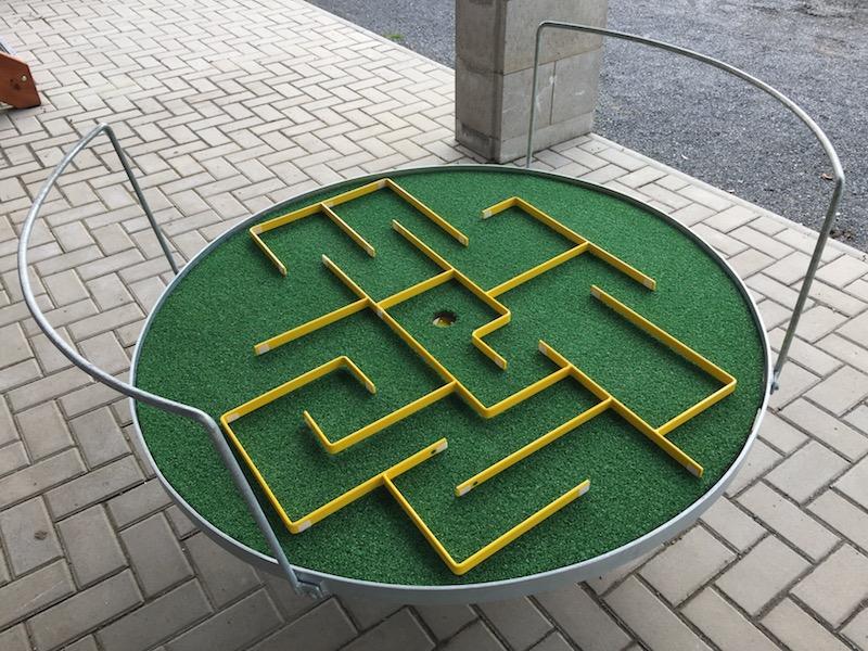 Garden-rondo (labyrint) - venkovní hra