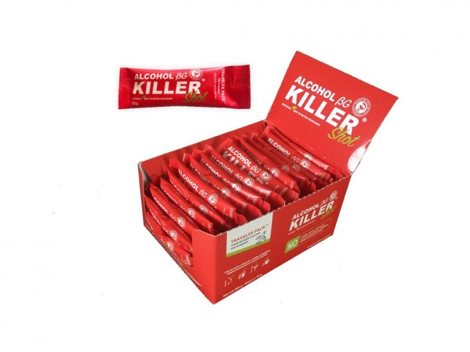 Alcohol Killer Shot pack 40 ks