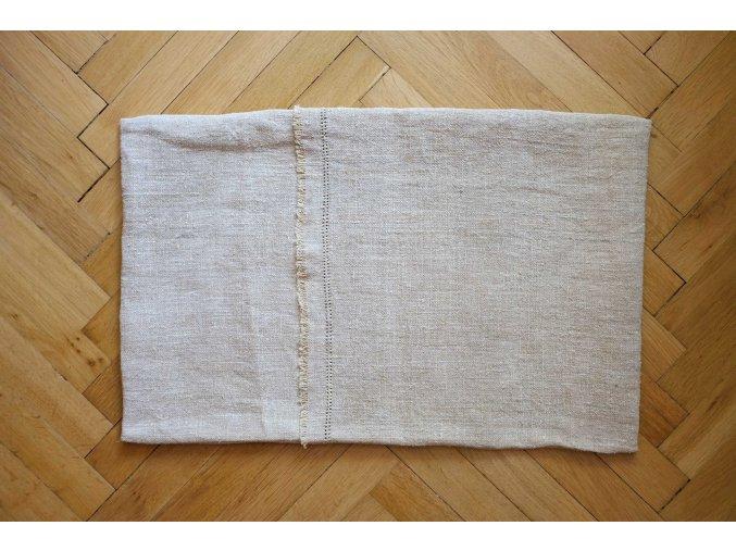 Ručně tkaný konopný polštář 1
