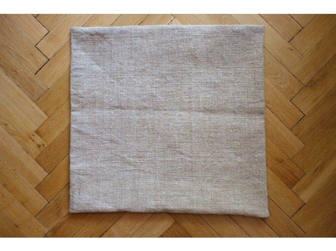 Ručně tkaný konopný polštář 2
