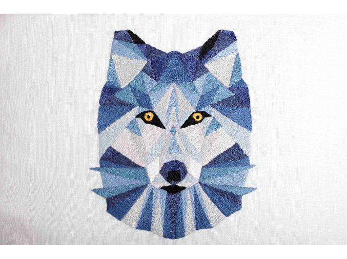Polštář s vlkem