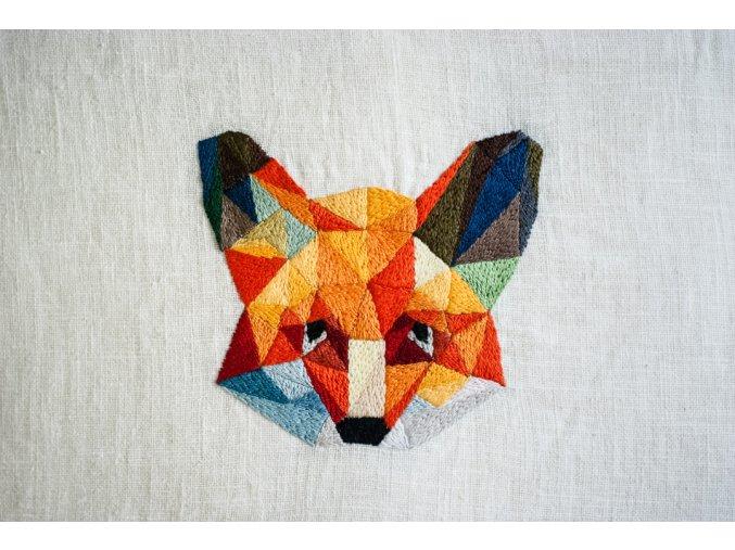 Geometrická liška - sada