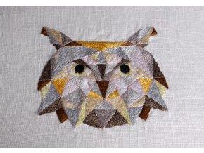 Geometrická sova - sada