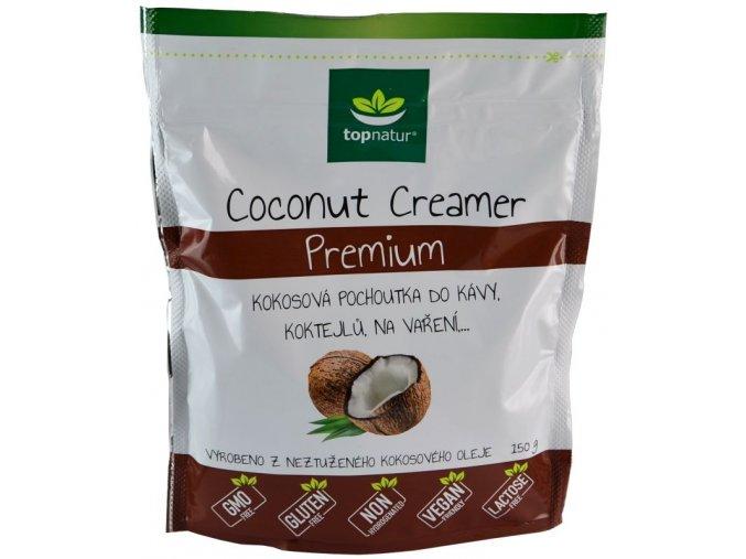 Kokosová pochoutka do kávy 150g Topnatur