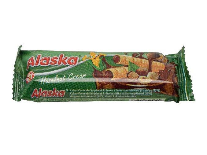 Trubičky ALASKA s oříškovou příchutí 18g