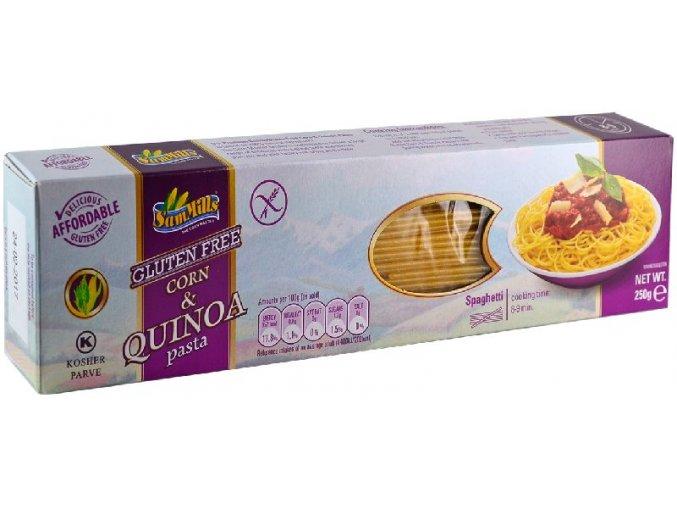 Špagety bezlepkové s quinoou 250g Sam Mils
