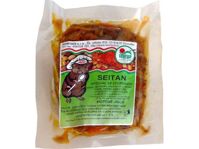 Seitan Speciál se zeleninou ks cca 200g