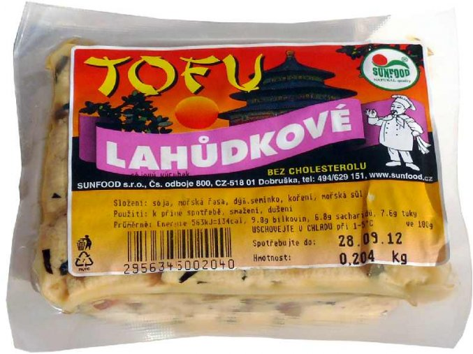 Tofu Lahůdkové ks cca 200g