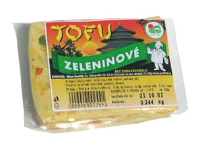 Tofu Zeleninové ks cca 200g
