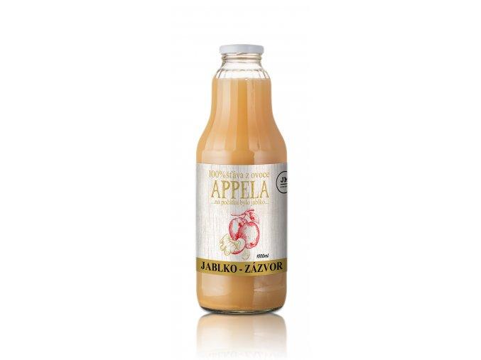 jablko zazvor 1l