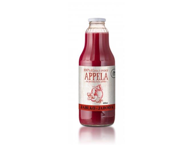 jablko jahoda 1l