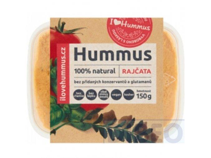 hummus rajčata