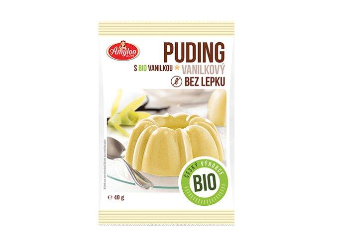 bio puding vanilka