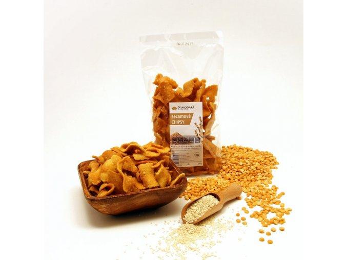 Sezamové chipsy