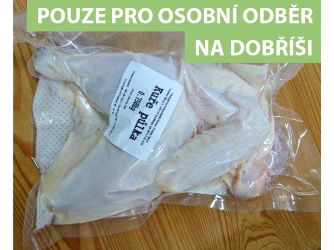 Kuře půlka Farma Trněný Újezd