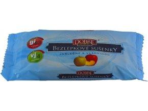 Sušenky jablečné s vlákninou BEZLEPKOVÉ 50g