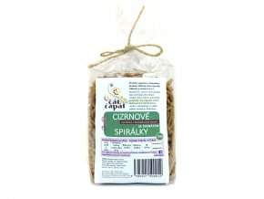 Čát Čapát spirálky špenátové 150 g white