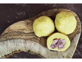 plneny bramborovy knedlik