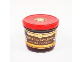 svestkova zavarenina s vanilkou polosladka 200 g