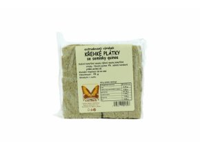 křehký plátek quinoa