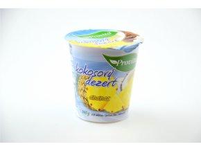 kokosový dezert ananas