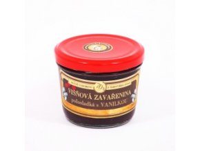 visnova zavarenina s vanilkou polosladka 200 g